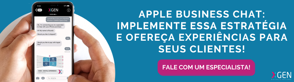 Apple Business Chat - Implemente agora mesmo
