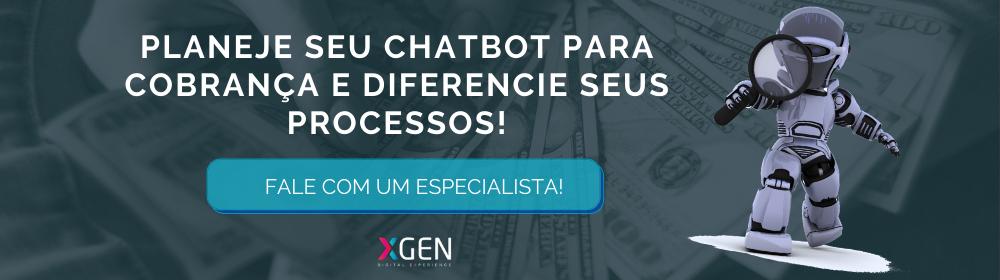 Chatbot para cobrança